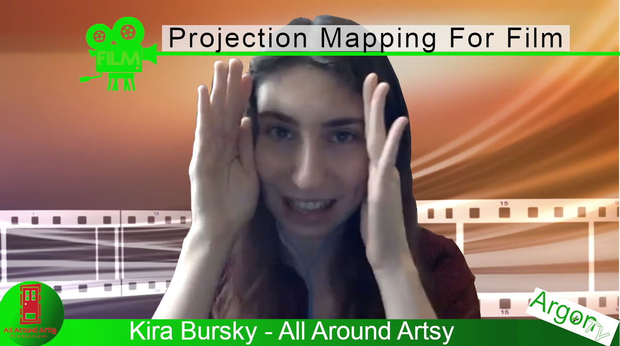 Projection Mapping For Film With Kira Bursky And ArgonTV